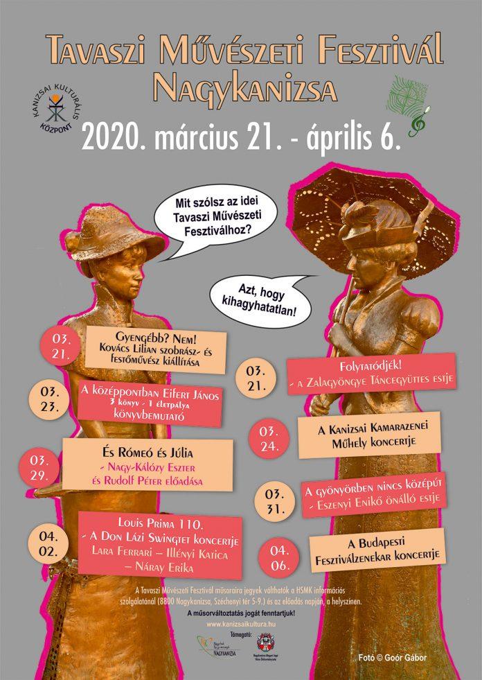 Tavaszi Művészeti Fesztivál Nagykanizsa - 2020. március 21. - április 6.
